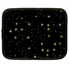 Awesome Allover Stars 02a Netbook Case (XL)