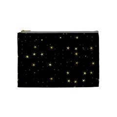 Awesome Allover Stars 02a Cosmetic Bag (Medium)