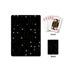Awesome Allover Stars 02a Playing Cards (Mini)