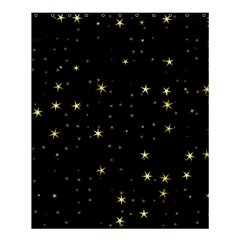 Awesome Allover Stars 02a Shower Curtain 60  x 72  (Medium)