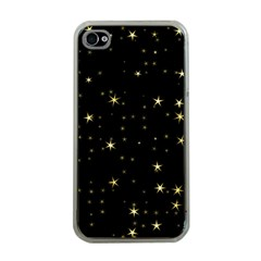 Awesome Allover Stars 02a Apple iPhone 4 Case (Clear)