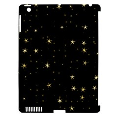 Awesome Allover Stars 02a Apple iPad 3/4 Hardshell Case (Compatible with Smart Cover)
