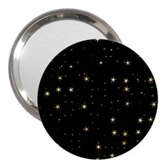 Awesome Allover Stars 02a 3  Handbag Mirrors