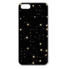 Awesome Allover Stars 02a Apple Seamless iPhone 5 Case (Clear)