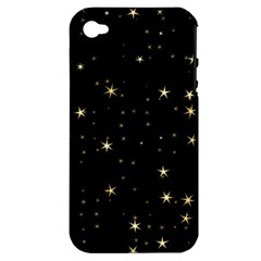 Awesome Allover Stars 02a Apple iPhone 4/4S Hardshell Case (PC+Silicone)