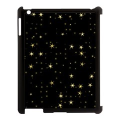 Awesome Allover Stars 02a Apple iPad 3/4 Case (Black)