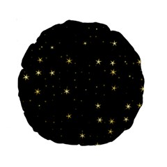Awesome Allover Stars 02a Standard 15  Premium Round Cushions