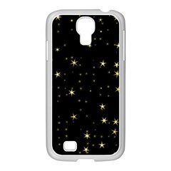 Awesome Allover Stars 02a Samsung GALAXY S4 I9500/ I9505 Case (White)