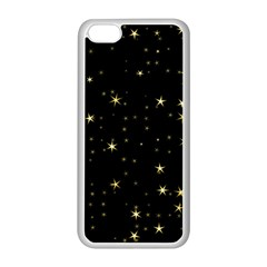 Awesome Allover Stars 02a Apple iPhone 5C Seamless Case (White)