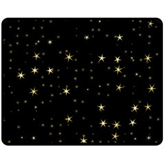 Awesome Allover Stars 02a Double Sided Fleece Blanket (Medium)