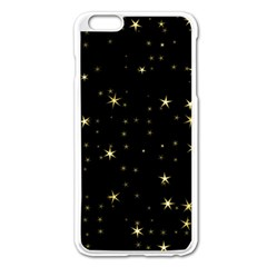 Awesome Allover Stars 02a Apple iPhone 6 Plus/6S Plus Enamel White Case