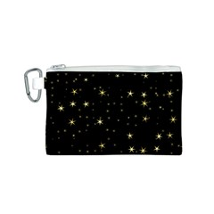 Awesome Allover Stars 02a Canvas Cosmetic Bag (S)