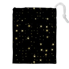 Awesome Allover Stars 02a Drawstring Pouches (XXL)