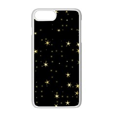 Awesome Allover Stars 02a Apple iPhone 7 Plus White Seamless Case