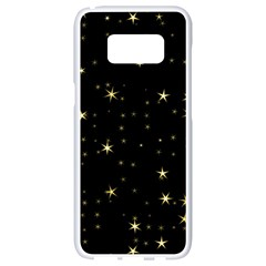 Awesome Allover Stars 02a Samsung Galaxy S8 White Seamless Case