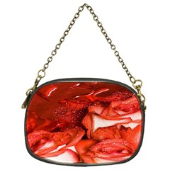 Nice Rose With Water Chain Purses (One Side)