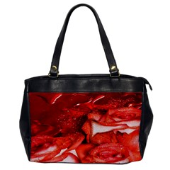 Nice Rose With Water Office Handbags