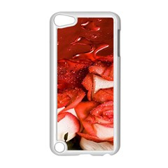 Nice Rose With Water Apple iPod Touch 5 Case (White)