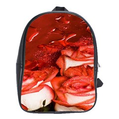 Nice Rose With Water School Bags (xl)