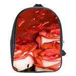 Nice Rose With Water School Bags (XL)  Front