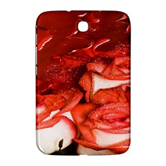 Nice Rose With Water Samsung Galaxy Note 8 0 N5100 Hardshell Case