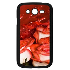 Nice Rose With Water Samsung Galaxy Grand DUOS I9082 Case (Black)