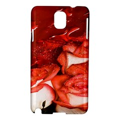 Nice Rose With Water Samsung Galaxy Note 3 N9005 Hardshell Case