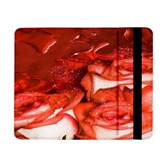 Nice Rose With Water Samsung Galaxy Tab Pro 8 4  Flip Case