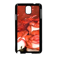 Nice Rose With Water Samsung Galaxy Note 3 Neo Hardshell Case (black)