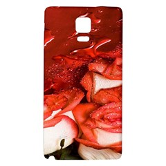 Nice Rose With Water Galaxy Note 4 Back Case
