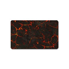 Volcanic Textures Magnet (name Card)