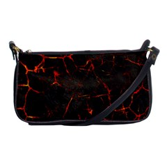 Volcanic Textures Shoulder Clutch Bags