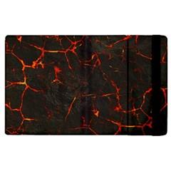 Volcanic Textures Apple iPad 3/4 Flip Case