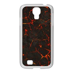 Volcanic Textures Samsung Galaxy S4 I9500/ I9505 Case (white)