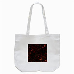 Volcanic Textures Tote Bag (White)