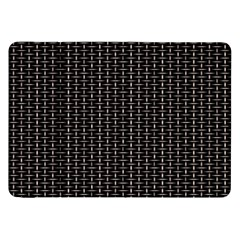 Dark Black Mesh Patterns Samsung Galaxy Tab 8.9  P7300 Flip Case