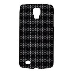 Dark Black Mesh Patterns Galaxy S4 Active