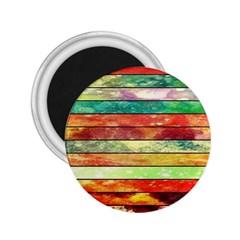 Stripes Color Oil 2.25  Magnets