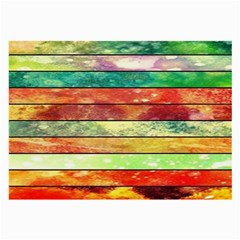 Stripes Color Oil Large Glasses Cloth