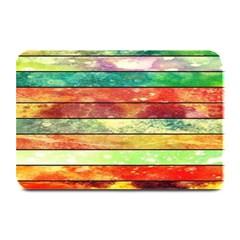 Stripes Color Oil Plate Mats