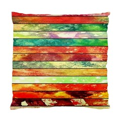 Stripes Color Oil Standard Cushion Case (two Sides)