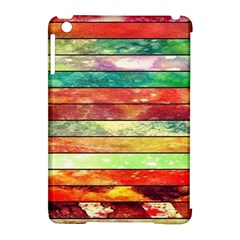 Stripes Color Oil Apple iPad Mini Hardshell Case (Compatible with Smart Cover)