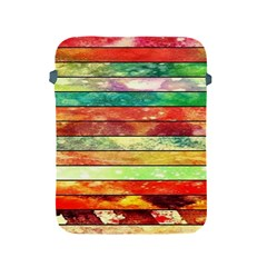 Stripes Color Oil Apple iPad 2/3/4 Protective Soft Cases