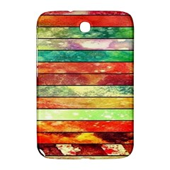 Stripes Color Oil Samsung Galaxy Note 8 0 N5100 Hardshell Case