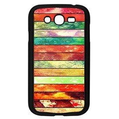 Stripes Color Oil Samsung Galaxy Grand DUOS I9082 Case (Black)