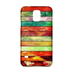 Stripes Color Oil Samsung Galaxy S5 Hardshell Case