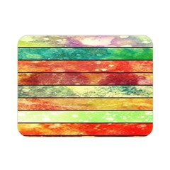 Stripes Color Oil Double Sided Flano Blanket (mini)