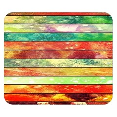 Stripes Color Oil Double Sided Flano Blanket (small)