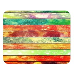 Stripes Color Oil Double Sided Flano Blanket (large)