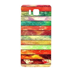 Stripes Color Oil Samsung Galaxy Alpha Hardshell Back Case